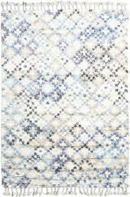 Greta Tappeto 160X230 Moderno Fatto A Mano Bianco/Creme/Beige (Lana, India)