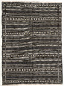Kilim Tappeto 155X210 Orientale Tessuto A Mano Grigio Scuro/Nero (Lana, Persia/Iran)