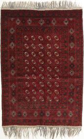 Afghan Khal Mohammadi Tappeto 132X182 Orientale Fatto A Mano Rosso Scuro/Grigio Chiaro (Lana, Afghanistan)