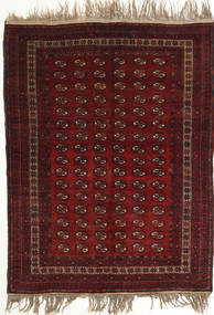 Afghan Khal Mohammadi Tappeto 134X180 Orientale Fatto A Mano Rosso Scuro (Lana, Afghanistan)