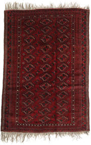 Afghan Khal Mohammadi Tappeto 123X177 Orientale Fatto A Mano Rosso Scuro (Lana, Afghanistan)