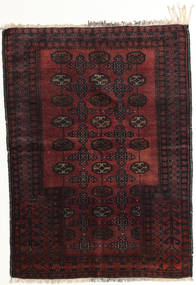 Afghan Khal Mohammadi Tappeto 95X129 Orientale Fatto A Mano Marrone Scuro/Rosso Scuro (Lana, Afghanistan)