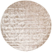 Crystal - Soft_Beige Tappeto Ø 250 Moderno Rotondo Bianco/Creme/Grigio Chiaro Grandi ( India)