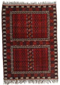 Afghan Khal Mohammadi Tappeto 167X221 Orientale Fatto A Mano Rosso Scuro/Grigio Chiaro (Lana, Afghanistan)