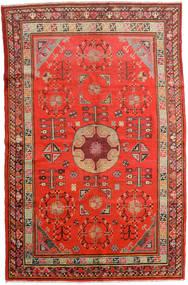 Samarkand Vintage Tappeto 161X250 Orientale Fatto A Mano Ruggine/Rosso/Rosso Scuro (Lana, Cina)