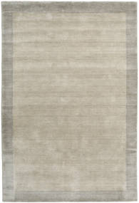 Handloom Frame - Greige Tappeto 160X230 Moderno Grigio Chiaro (Lana, India)