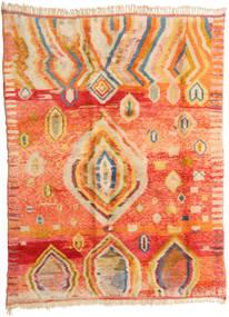 Berber Moroccan - Mid Atlas Tappeto 221X295 Moderno Fatto A Mano Arancione/Beige Scuro (Lana, Marocco)