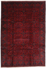 Afghan Khal Mohammadi Tappeto 203X292 Orientale Fatto A Mano Rosso Scuro/Rosso (Lana, Afghanistan)