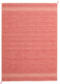 Ernst - Coral/Light_Coral Tappeto 170X240 Moderno Tessuto A Mano Rosa Chiaro/Rosso (Lana, India)
