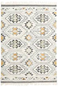 Mirzapur Tappeto 140X200 Moderno Tessuto A Mano Beige Scuro/Beige (Lana, India)