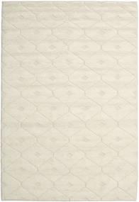Romby - Off-Bianco Tappeto 200X300 Moderno Tessuto A Mano Beige/Beige Scuro (Lana, India)