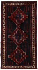 Saveh Tappeto 160X303 Orientale Fatto A Mano Alfombra Pasillo Marrone Scuro/Rosso Scuro (Lana, Persia/Iran)