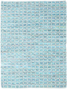 Elna - Bright_Blue Tappeto 170X240 Moderno Tessuto A Mano Azzurro/Blu Turchese (Cotone, India)