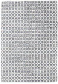 Elna - Grigio Tappeto 200X300 Moderno Tessuto A Mano Grigio Chiaro/Bianco/Creme (Cotone, India)