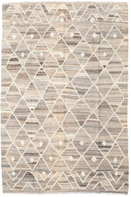 Kilim Ariana Tappeto 169X252 Moderno Tessuto A Mano Grigio Chiaro/Beige (Lana, Afghanistan)