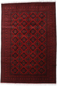Afghan Khal Mohammadi Tappeto 200X293 Orientale Fatto A Mano Rosso Scuro/Rosso (Lana, Afghanistan)