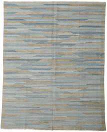 Kilim Moderni Tappeto 233X295 Moderno Tessuto A Mano Grigio Chiaro/Grigio Scuro (Lana, Afghanistan)