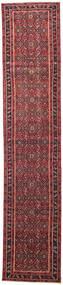 Hamadan Patina Tappeto 78X380 Orientale Fatto A Mano Alfombra Pasillo Rosso/Rosso Scuro (Lana, Persia/Iran)