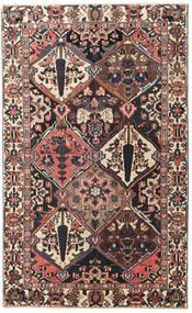 Bakhtiar Patina Tappeto 150X247 Orientale Fatto A Mano Marrone Scuro/Rosso Scuro (Lana, Persia/Iran)