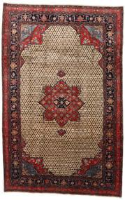 Songhor Tappeto 206X322 Orientale Fatto A Mano Marrone Chiaro/Nero (Lana, Persia/Iran)
