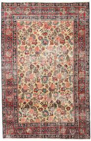 Mashad Patina Tappeto 185X285 Orientale Fatto A Mano Marrone Chiaro/Grigio Scuro (Lana, Persia/Iran)
