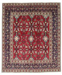 Tabriz Patina Tappeto 195X232 Orientale Fatto A Mano Porpora Scuro/Rosso (Lana, Persia/Iran)