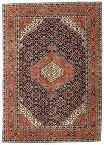 Ardebil Patina Tappeto 208X290 Orientale Fatto A Mano Grigio Scuro/Rosso Scuro (Lana, Persia/Iran)