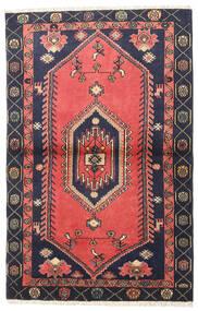 Kelardasht Tappeto 98X150 Orientale Fatto A Mano Rosso/Nero (Lana, Persia/Iran)