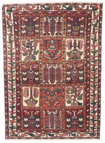 Bakhtiar Patina Tappeto 110X152 Orientale Fatto A Mano Rosso Scuro/Marrone Scuro (Lana, Persia/Iran)