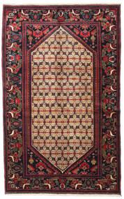 Koliai Tappeto 128X207 Orientale Fatto A Mano Marrone Scuro/Rosso Scuro (Lana, Persia/Iran)
