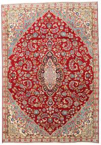 Kirman Tappeto 210X300 Orientale Fatto A Mano Rosso Scuro/Ruggine/Rosso (Lana, Persia/Iran)