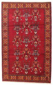 Beluch Tappeto 108X170 Orientale Fatto A Mano Rosso Scuro/Rosso (Lana, Persia/Iran)