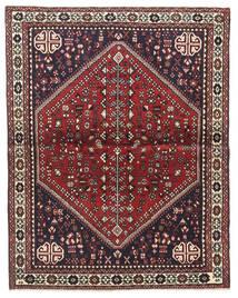 Abadeh Tappeto 100X128 Orientale Fatto A Mano Marrone Scuro/Rosso Scuro (Lana, Persia/Iran)