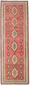 Kilim Fars Tappeto 155X460 Orientale Tessuto A Mano Alfombra Pasillo Rosso Scuro/Marrone Scuro (Lana, Persia/Iran)