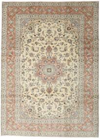 Yazd Tappeto 248X345 Orientale Fatto A Mano Grigio Chiaro/Beige Scuro (Lana, Persia/Iran)