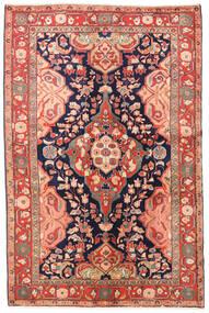 Jozan Tappeto 135X203 Orientale Fatto A Mano Ruggine/Rosso/Beige (Lana, Persia/Iran)