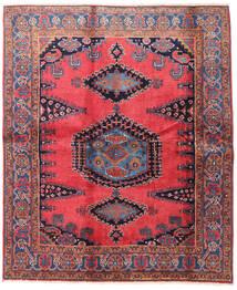 Wiss Tappeto 188X225 Orientale Fatto A Mano Marrone/Nero (Lana, Persia/Iran)
