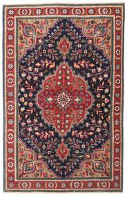 Tabriz Patina Tappeto 98X150 Orientale Fatto A Mano Grigio Scuro/Rosso Scuro (Lana, Persia/Iran)