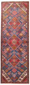 Joshaghan Tappeto 100X292 Orientale Fatto A Mano Alfombra Pasillo Rosso Scuro/Ruggine/Rosso (Lana, Persia/Iran)