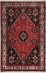 Gabbeh Kashkooli Tappeto 83X125 Moderno Fatto A Mano Rosso Scuro/Marrone Scuro (Lana, Persia/Iran)