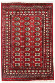 Pakistan Bukara 2Ply Tappeto 125X185 Orientale Fatto A Mano Rosso Scuro (Lana, Pakistan)