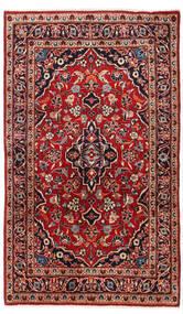 Keshan Tappeto 95X157 Orientale Fatto A Mano Rosso Scuro/Marrone Scuro (Lana, Persia/Iran)