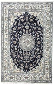 Nain Tappeto 200X308 Orientale Fatto A Mano Grigio Scuro/Grigio Chiaro (Lana, Persia/Iran)