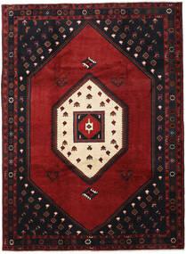 Kelardasht Tappeto 215X293 Orientale Fatto A Mano Nero/Rosso Scuro (Lana, Persia/Iran)