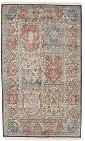 Cachemire Puri Di Seta Tappeto 98X161 Orientale Fatto A Mano Grigio Chiaro/Grigio Scuro (Seta, India)