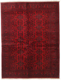 Afghan Khal Mohammadi Tappeto 150X196 Orientale Fatto A Mano Rosso Scuro/Rosso (Lana, Afghanistan)