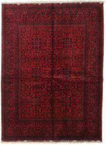 Afghan Khal Mohammadi Tappeto 153X206 Orientale Fatto A Mano Rosso Scuro/Rosso (Lana, Afghanistan)
