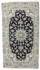 Nain Tappeto 118X210 Orientale Fatto A Mano Grigio Chiaro/Grigio Scuro (Lana, Persia/Iran)