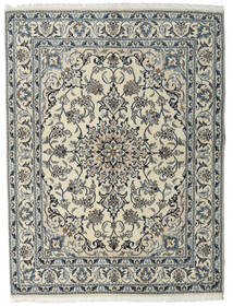 Nain Tappeto 160X215 Orientale Fatto A Mano Grigio Chiaro/Grigio Scuro (Lana, Persia/Iran)