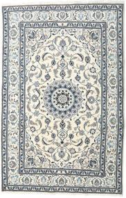 Nain Tappeto 195X299 Orientale Fatto A Mano Beige/Grigio Chiaro (Lana, Persia/Iran)